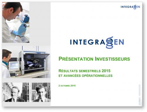 Presentation investisseurs (2Oct15)